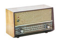 Old Radio Isolated Stock Photography - 32560062