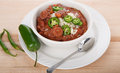 Red Beans And Rice With Jalapeno Peppers Royalty Free Stock Photography - 32568467