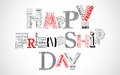 Happy Friendship Day Greetings Royalty Free Stock Photography - 32587887