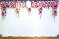 Flowers Archway Stock Image - 32590551