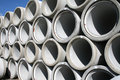 Stack Of Water Pipes Royalty Free Stock Image - 3266926
