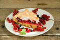 Piece Of Berry Pie Royalty Free Stock Images - 32600519