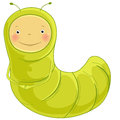 Inchworm Cartoon Character Stock Images - 32600624
