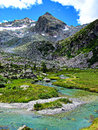 Mountain Glacial Stream Water - Italian Alps Stock Images - 32605134