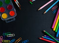 School Blackboard Royalty Free Stock Image - 32612286