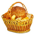 Bread In A Basket Royalty Free Stock Image - 32616906