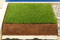 Synthetic Grass Layers Stock Photo - 32627200