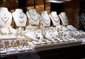 Garnet Jewelry Shop Royalty Free Stock Images - 32630649