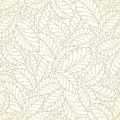 Seamless Golden Leaves Wallpaper Royalty Free Stock Images - 32639439