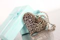 Heart Necklace Royalty Free Stock Image - 32639956