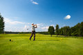 An Image Of A Male Golf Player Stock Images - 32640144
