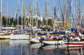 Summer Morning A Yacht Wharf. Royalty Free Stock Photography - 32645777