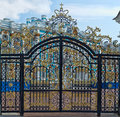 Gold Gate, Entrance To Catherine S Palace, St. Petersburg Royalty Free Stock Photos - 32648088