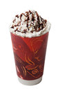 Whipped Cream Hot Cold Coffee Drink Isolation Stock Photos - 32653193