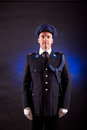 Elegant Soldier Wearing Uniform Stock Photography - 32656322