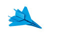 Origami F-15 Eagle Jet Fighter Airplane Stock Images - 32690194