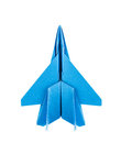 Origami F-15 Eagle Jet Fighter Airplane Stock Photo - 32690220