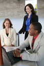 Business Team (Focus On Man) Stock Photography - 3275662