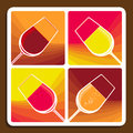 Wine Collage Showing Different Varieties Stock Image - 32702651