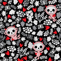Crazy Babies Seamless Pattern. Stock Photo - 32712530