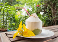 Young Coconut Stock Images - 32713494