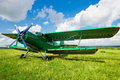 Old Airplane Stock Image - 32717941