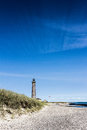 Lighthouse In Skagen With Great Sky Formation Royalty Free Stock Images - 32726899