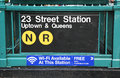 Subway Entrance At 23rd Street In NYC Stock Photography - 32757922