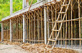 Bamboo Scaffolding Royalty Free Stock Images - 32759149