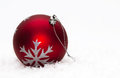 Red Christmas Ball Stock Image - 32769871