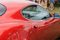 Red Italian Sports Car Door Handle And Window Stock Images - 32777054