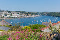 Fowey Cornwall From Polruan England Near St Austell Stock Images - 32780554