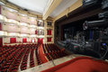 Side View Of Auditorium And Stage In Vakhtangov Theatre Stock Photo - 32791530