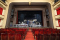 Scene With Unpacked Decorations In Vakhtangov Theatre Royalty Free Stock Image - 32791536