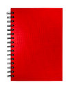 Isolated Red Notebook Royalty Free Stock Photos - 32793558