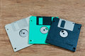 Old Diskettes Royalty Free Stock Photos - 32794788