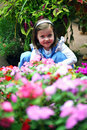 Flower Girl Royalty Free Stock Photography - 3281967