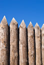 High Wall Of Old Wooden Sharpe Royalty Free Stock Photo - 3282255