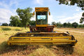 Old Harvester Royalty Free Stock Images - 3282809
