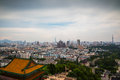 View From Nanjing Yuejianglou Tower (River Watchtower) Royalty Free Stock Photography - 32802307