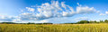 Panoramic View Of Clouds And Meadow Royalty Free Stock Images - 32804279