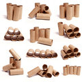 Toilet Paper Tube Collections Stock Photo - 32808590