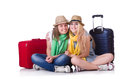 Pair Of Young Students Stock Images - 32810814