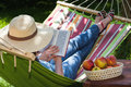 Relax On Hammock Stock Photography - 32816132