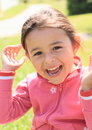 Laughing Little Girl Royalty Free Stock Photos - 32826258