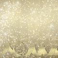 Golden Silk Ribbon On A Beautiful Abstract Background Royalty Free Stock Photos - 32826558
