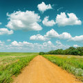 Road To Cloudy Horizon Royalty Free Stock Images - 32830339