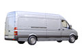 Commercial Van Isolated Stock Photo - 32836150