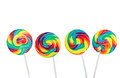 Lollipops In A Row Royalty Free Stock Images - 32847139