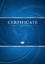Blue Certificate / Diploma Background (template) Royalty Free Stock Photo - 32850645